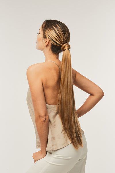 Wrap Around Straight Ponytail
