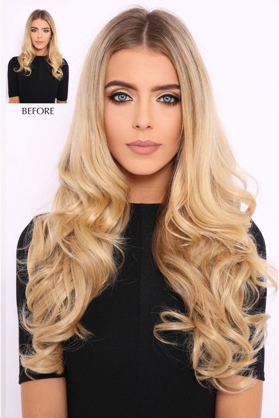 String Wavy Hair Extension