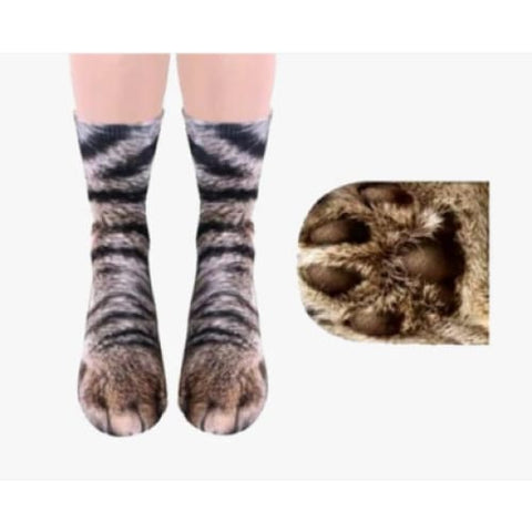 Animal Paw Socks - Treat Yourself Emporium