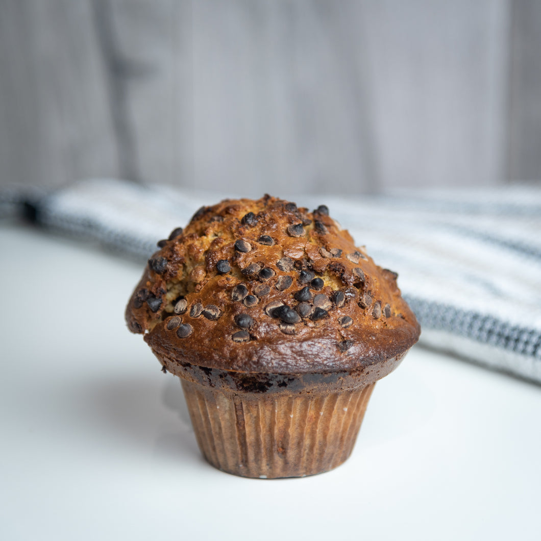 Muffin aux 3 chocolats