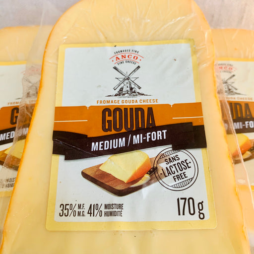 Fromage Gouda mi-fort sans lactose