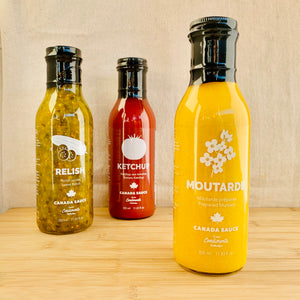 Moutarde Canada sauce 350ml