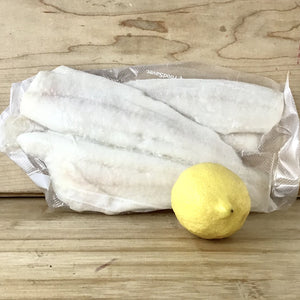 Filet de sole surgelé du Pacifique