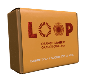 Savon en barre Orange & Curcuma de Loop