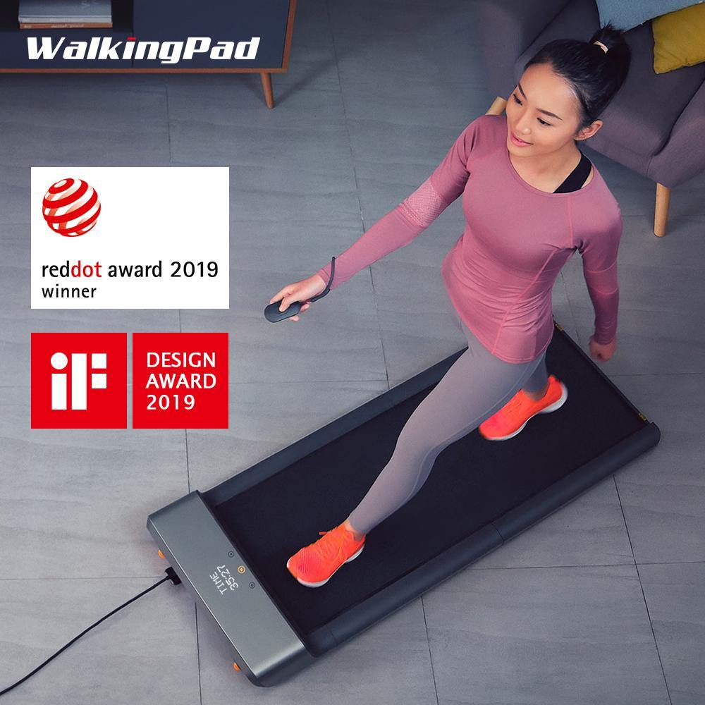 Kingsmith WalkingPad A1 foldable under desk walking treadmill.