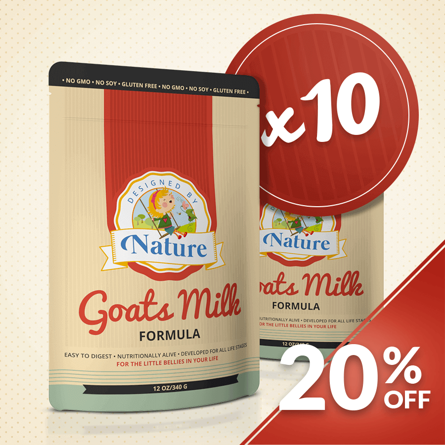 Goats Milk Formula - Bundle of 10