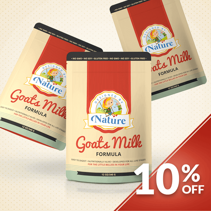 Goats Milk Formula - Bundle of 3
