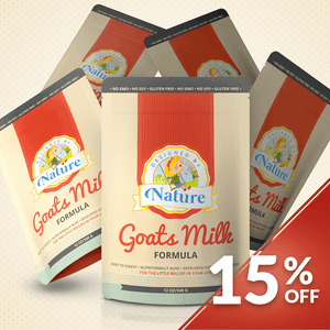 Goats Milk Formula - Bundle of 5