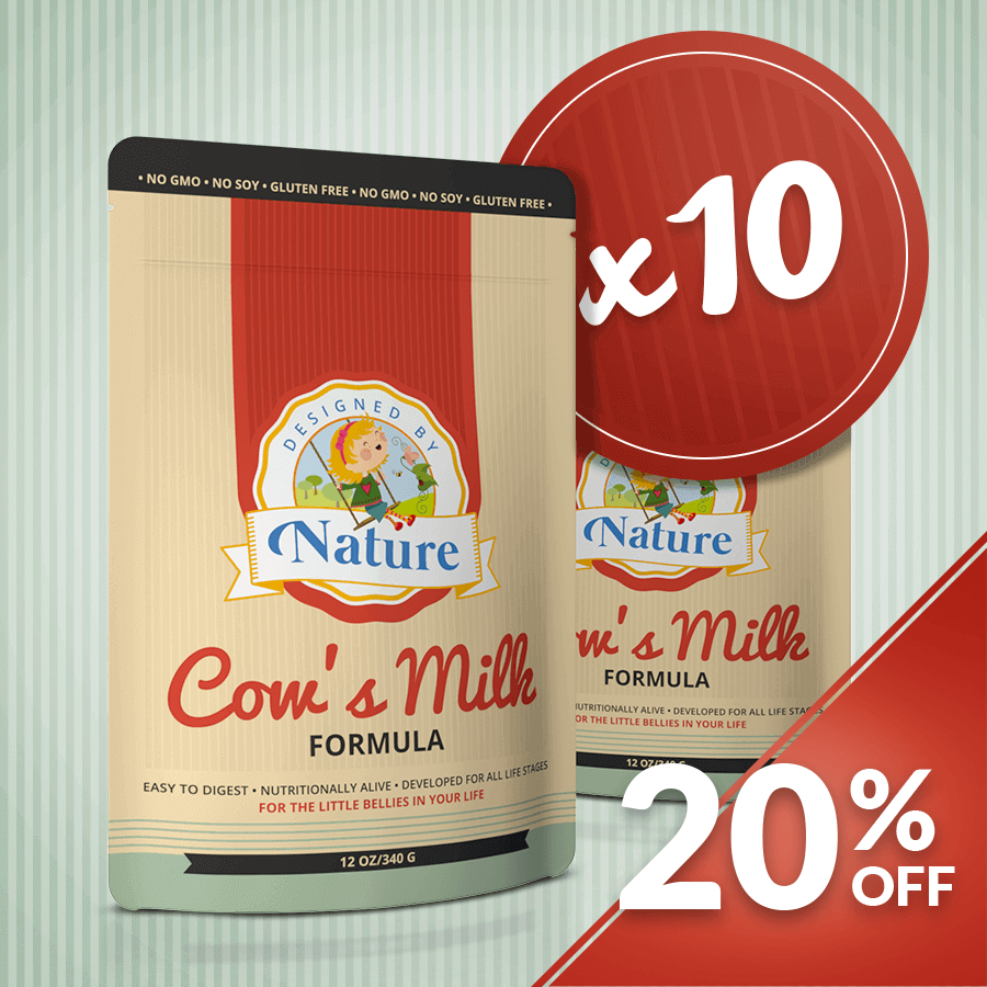Cow's Milk Formula - Bundle of 10