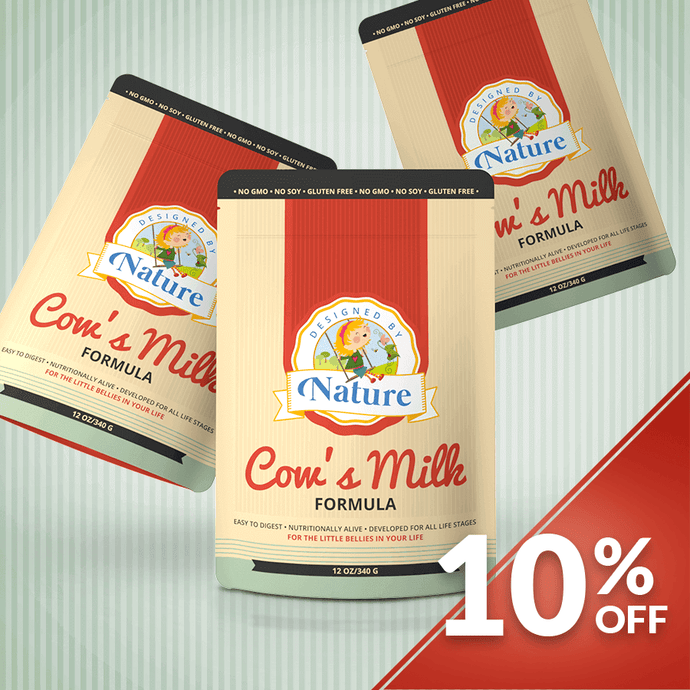 Cow's Milk Formula - Bundle of 3