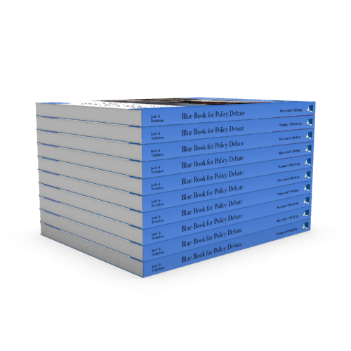 Blue Books - Bulk Package of 10