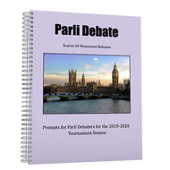 Season 20 Parli Resolutions