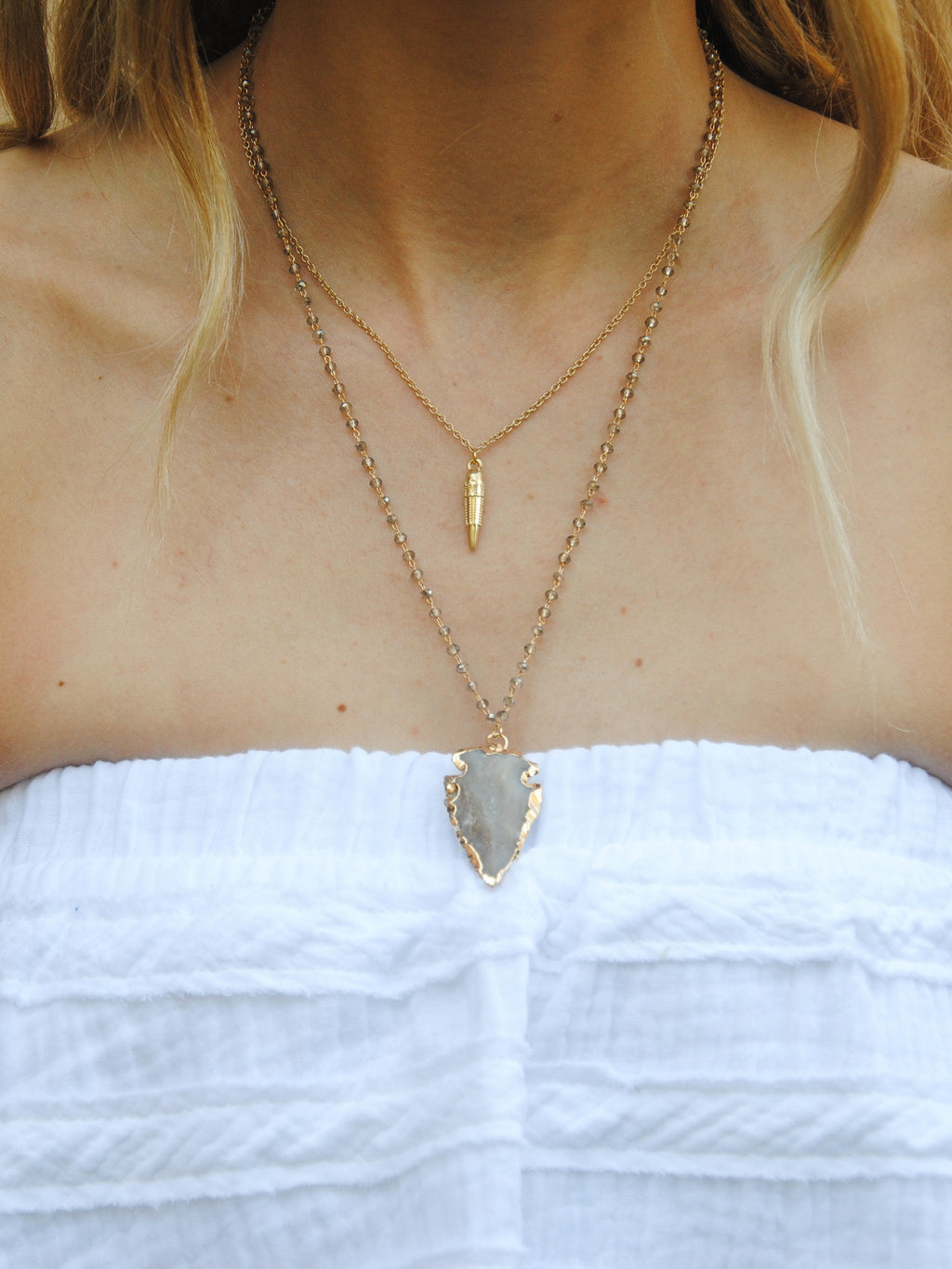 Arrow Layered Necklace
