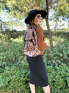 Lioness Leopard Backpack