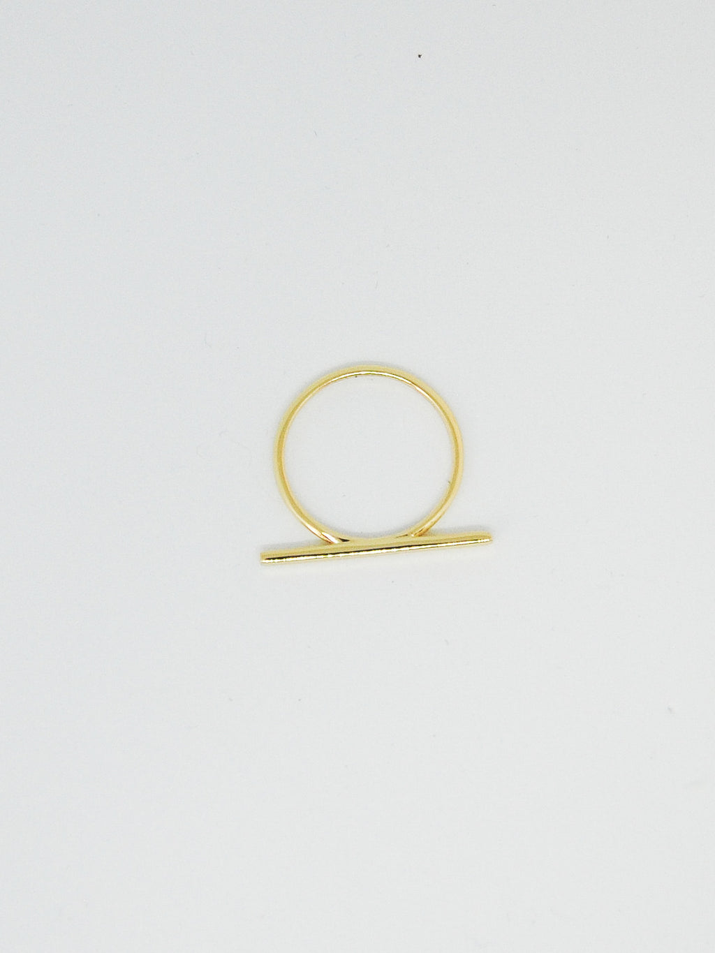 Gold Bar Ring