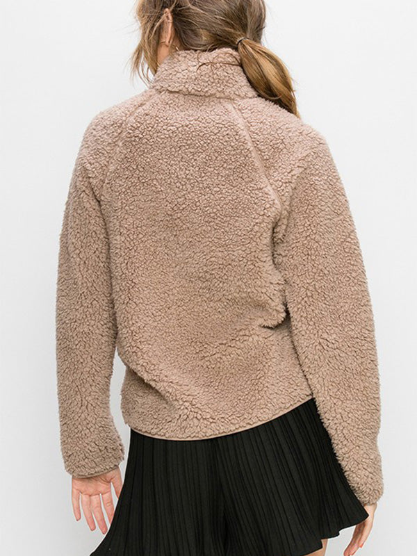 Soft & Cozy Fleece Jacket - Stone