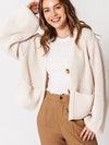 Cozy Up Cardigan Sweater - Ivory