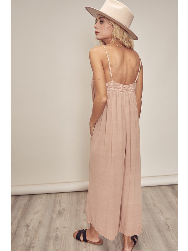 Laurel Lace Strappy Jumpsuit