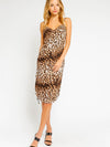 Running Wild Leopard Slip Dress