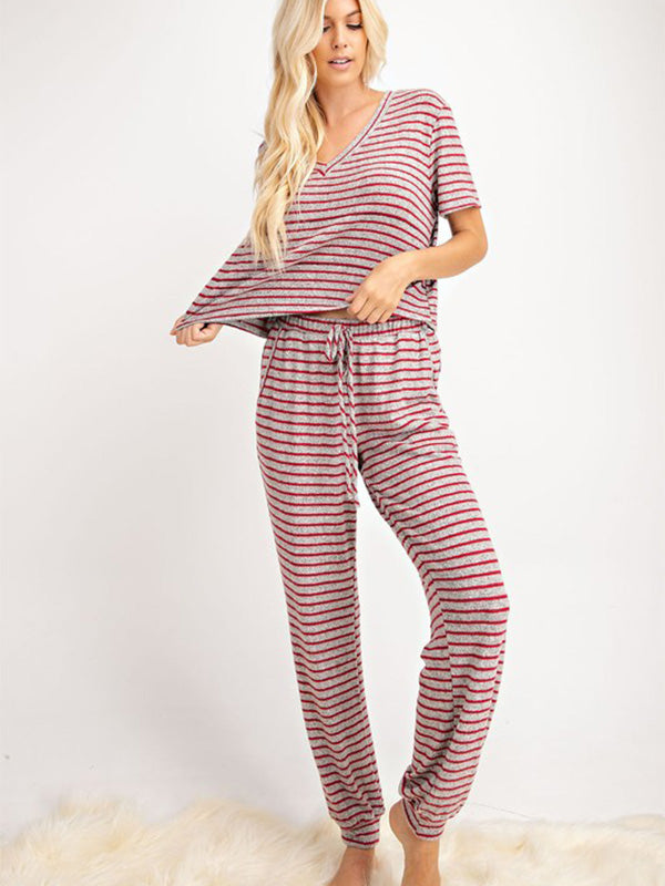 Noel Striped Lounge Top