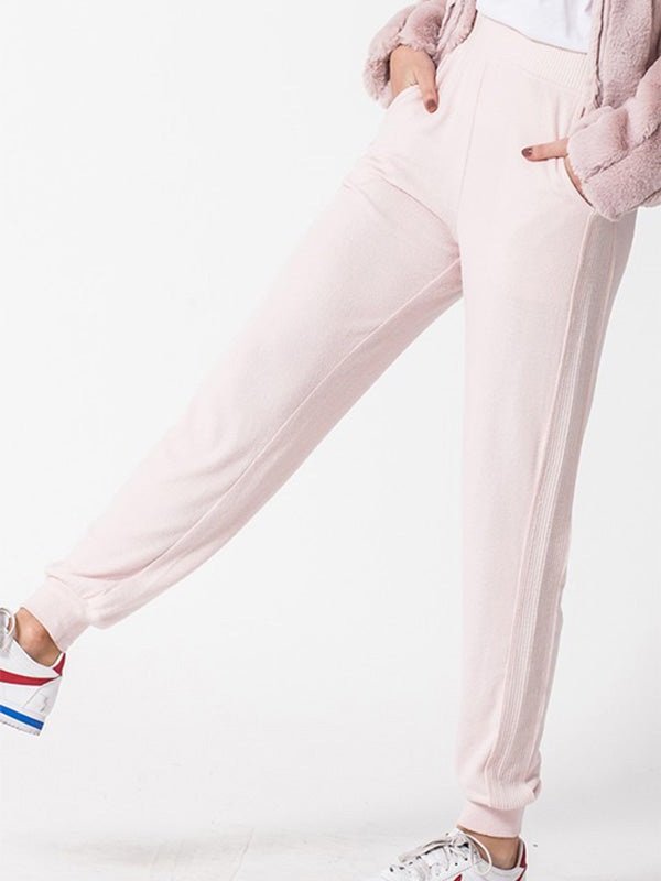 Evie Jogger Lounge Pants - Light Pink