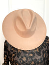 Sahara Wool Hat - Tan