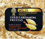 4pk Gold Cardamom Fruitas Natural Spice Breath Freshener and Flavor Booster