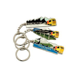 Scenic Trains Keyrings