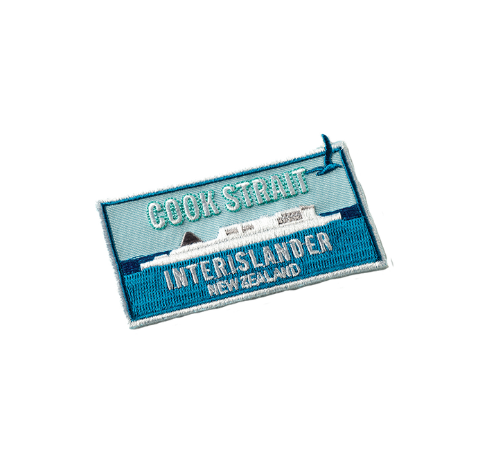 Interislander Embroidered Patch