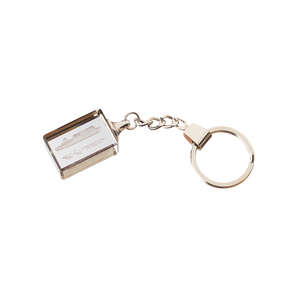 Interislander Etched Glass Keyring