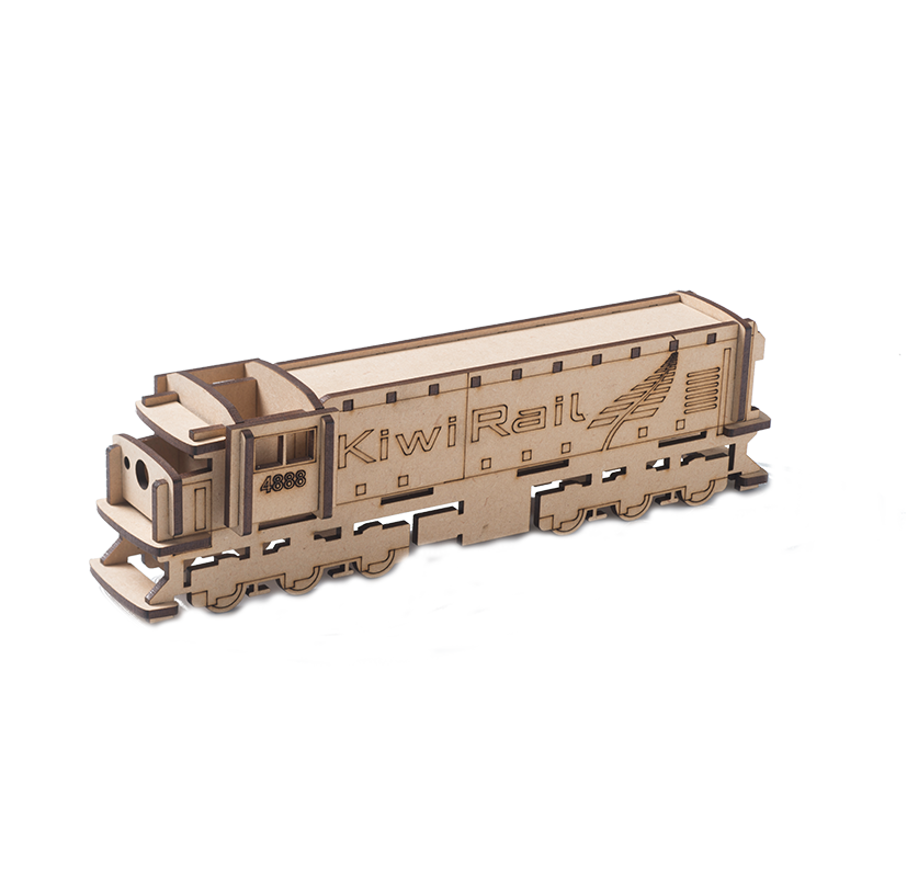 KiwiRail Wooden Model DC Locomotive