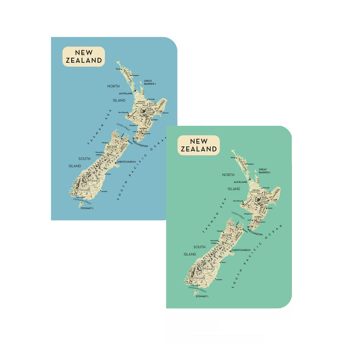 NZ Map Notebooks