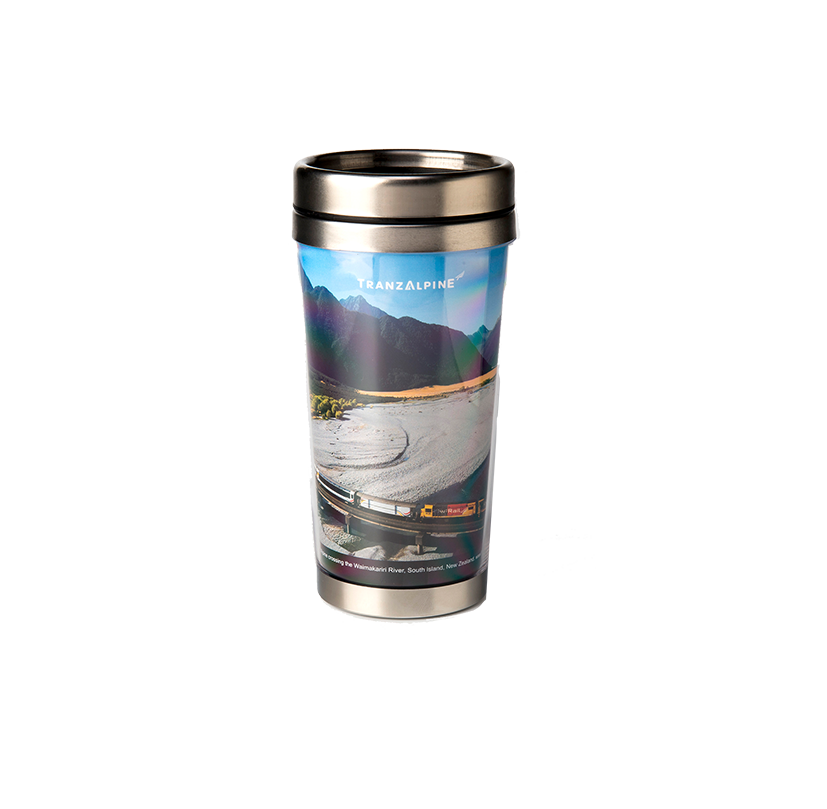 TranzAlpine Re-Usable Travel Cup