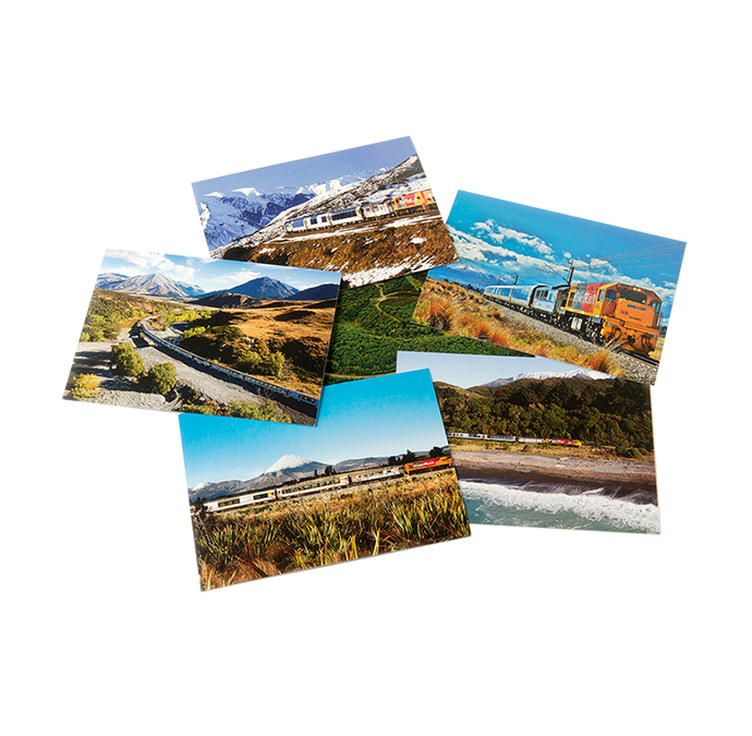 Scenic Trains Postcards