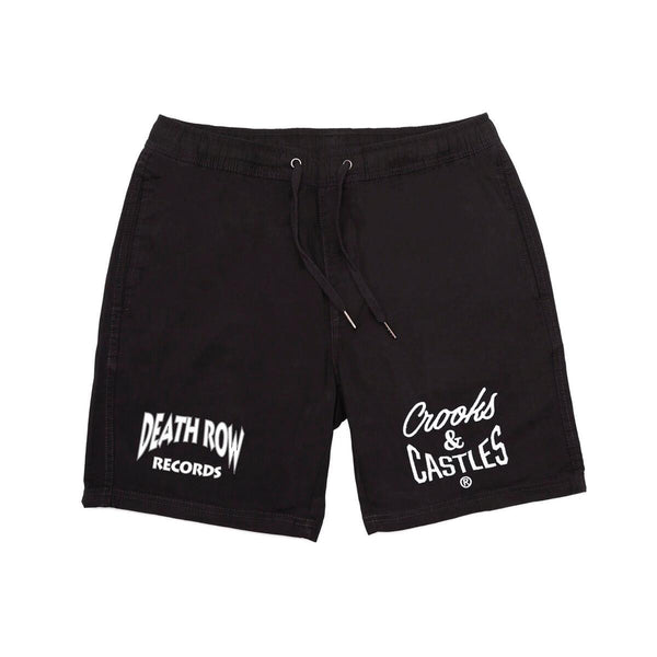 Death Row x Crooks Logo Shorts
