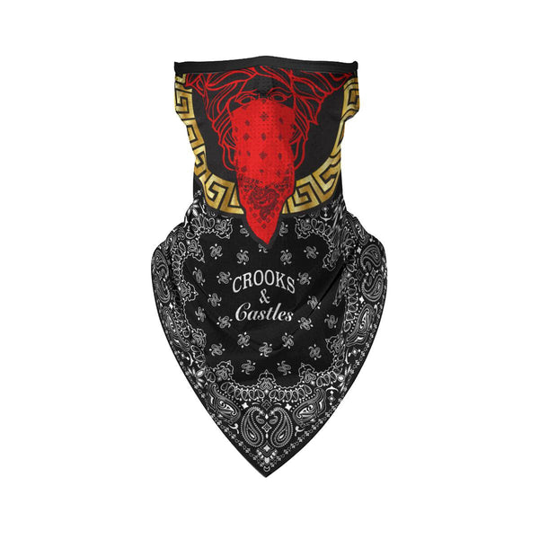 Red Medusa Bandana Mask