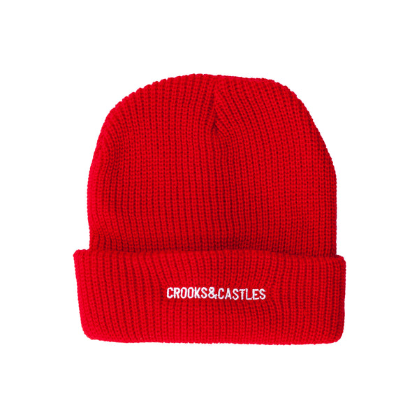 New Core Beanie (Red)