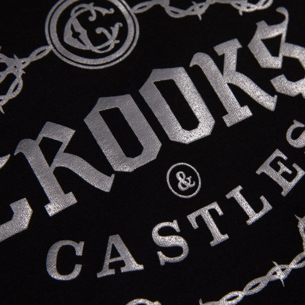 Barded Gothic Crooks Cropped L/S Tee