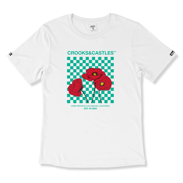 Poppy Checkered Tee