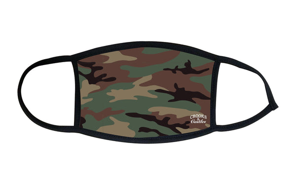 Reverse Camo Fashion Mask