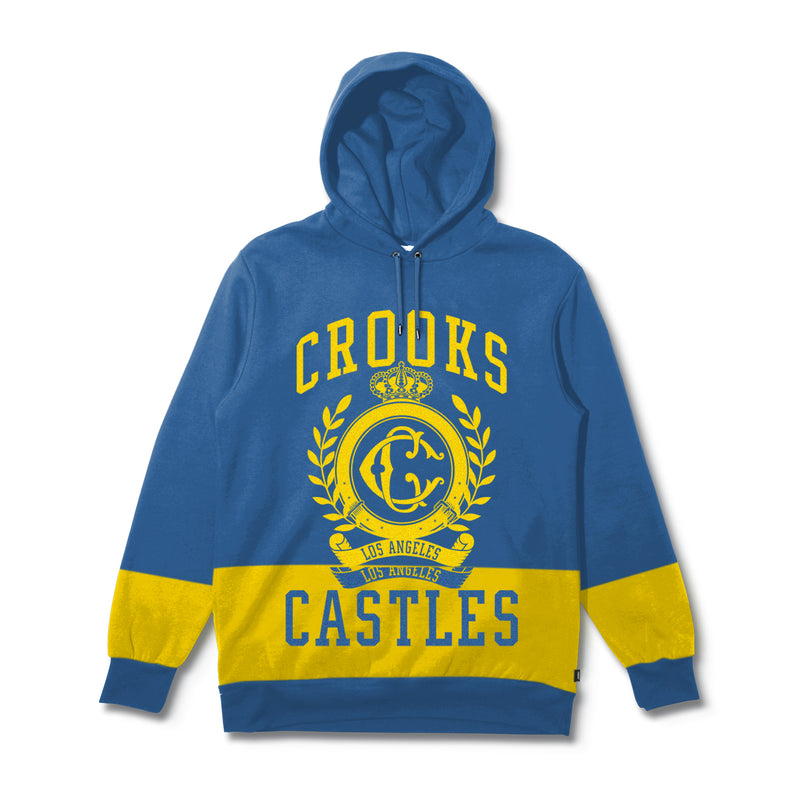 Coat of Arms Split Hoodie