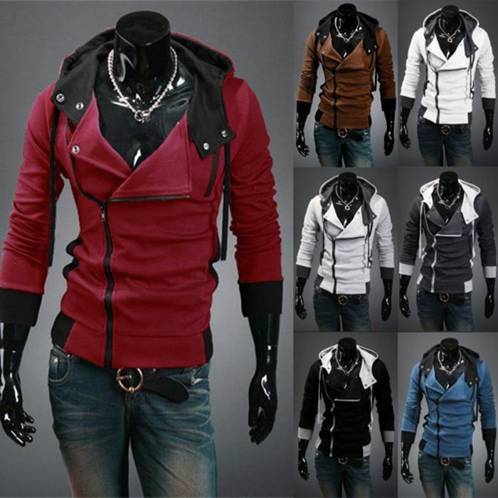hot sale 2014 new styles Men's Autumn and winter cardigan Korean men's Hoodie Jacket-noashe