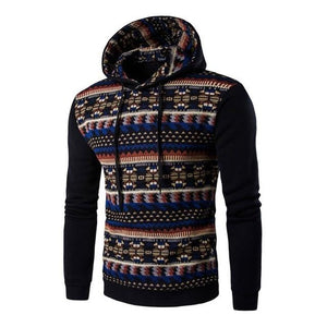 National Style 2017 New Hoodies Men Hombre Hip Hop Male Brand Hoodie Casual Patchwork Sweatshirt Men Slim Fit sudaderas hombre-noashe