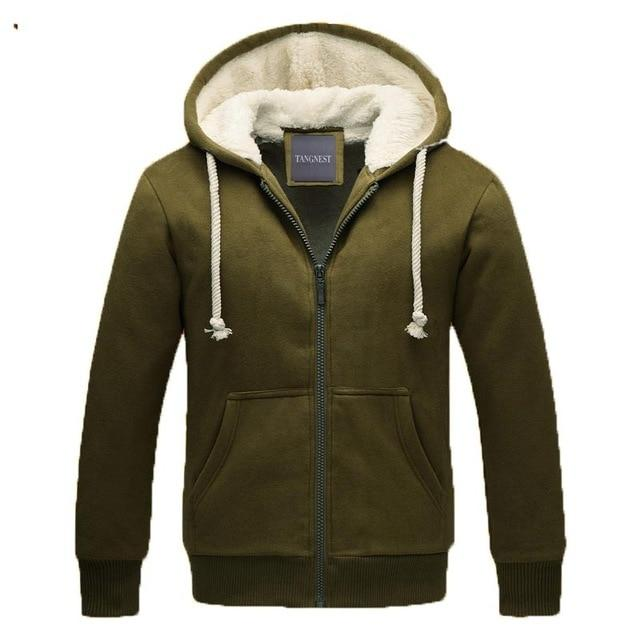 TANGNEST Men Thick Hoodies Autumn&Winter Style Men's Casual Thick Warm Solid Sweatshirts Male Hooded Sweatshirt Basic MWW987-noashe