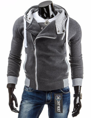 Hot Sale Spring&Autumn Men's Fashion Brand Hoodies Sweatshirts Casual Male Hooded Jackets Brand Male Hoodie-noashe
