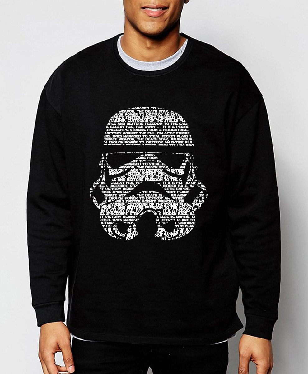 Star Wars sweatshirt men 2017 hot sale spring winter fashion men hoodies cartoon tracksuit fleece brand hoody hip hop streerwear-noashe