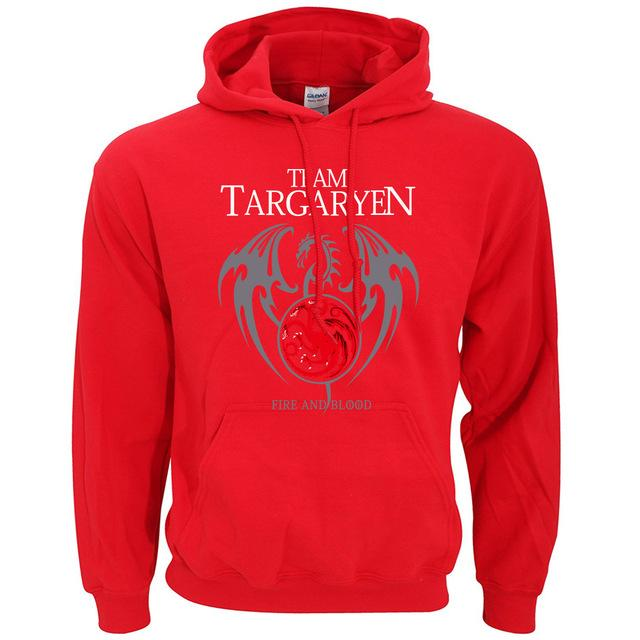 Dragon Game of Thrones Hoodies Men 2017 New Arrival Spring Autumn Men Sweatshirt Fleece Brand Hoodie Casual Men's Sportswear-noashe