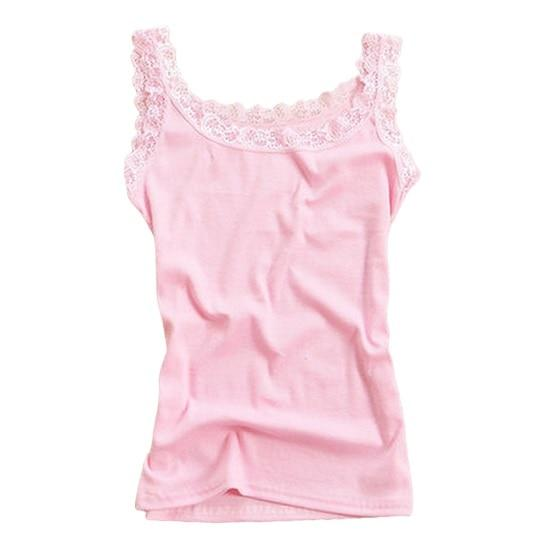 2016 Women Blouse Shirt Lace Crochet Blouses Vest Sleeveless Hollow Out Crop Tops Candy Color Summer Vetement Femme-noashe