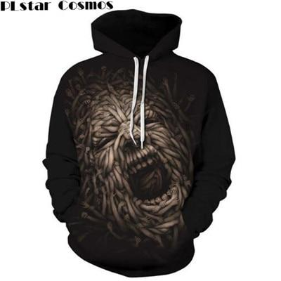 PLstar Cosmos Hooded Sweatshirt Wolf Lion Animals 3D All Over Print Hoodie Sweatshirt 2017 Fashion Hooded Harajuku Men Women1-noashe