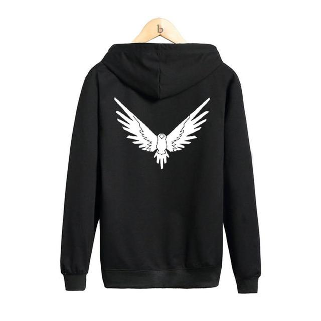 Logang Logan Paul Maverick Bird Hoodie Men Women Casual Jake Paul Hoodies Harajuku Streetwear Jumper Men Hoodies Sweatshirts-noashe